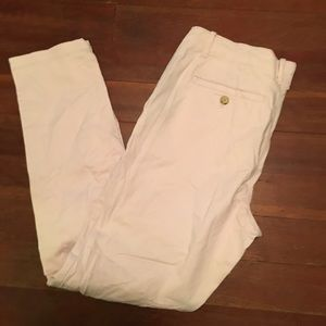 UO Pale Pink Twill Pants